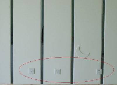 客厅,卧室,厨房,餐厅开关插座布置图